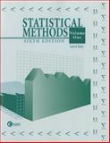 Statistical Methods 9780072461251