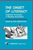 The Onset of Literacy 9780262521253