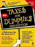 Taxes for Dummies : 1999 Edition, Tyson, Eric and Silverman, David, 0764551256