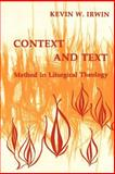 Context and Text, Kevin W. Irwin, 0814661254
