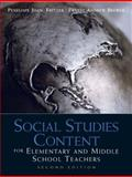 Social Studies Content for Elementary and Middle School Teachers, Fritzer, Penelope J. and Brewer, Ernest Andrew, 0137011253