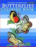 Butterfly Coloring Pages - Butterflies Coloring Book, Richard Hargreaves, 1500501255