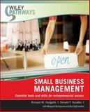 Small Business Management, Hodgetts, Richard M. and Kuratko, Donald F., 0470111267