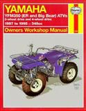 Haynes Yamaha ATV YMF350 Big Bear/ER, 1987-1995, Haynes Publications Staff, 156392126X