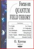Focus on Quantum Field Theory, , 1594541264