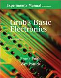 Experiments Manual and Simulation CD to accompany Grob's Basic Electronics, Pugh, Frank and Ponick, Wes, 0073261262