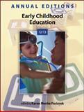 Annual Editions: Early Childhood Education 12/13, Paciorek, Karen Menke, 0078051266
