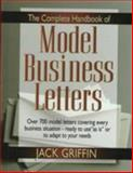 The Complete Book of Model Business Letters, Griffin, Jack, 0137691262