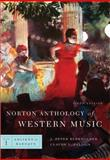 Norton Anthology of Western Music, Burkholder, C. Palisca, J. P. Burkholder, 0393931269