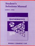 A Problem Solving Approach to Mathematics for Elementary School Teachers, Levy, Louis L. and Libeskind, Shlomo, 0321331265