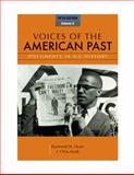 Voices of the American Past, Volume II, Hyser, Raymond M. and Arndt, J. Christopher, 1111341265