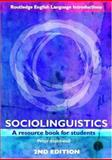 Sociolinguistics : A Resource Book for Students, Stockwell, Peter, 0415401275