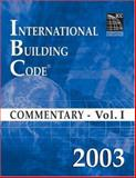 International Building Code Commentary 2003, International Code Council Staff, 1580011276