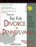 How to File for Divorce in Pennsylvania, Rebecca DeSimone and Edward A. Haman, 1572481277