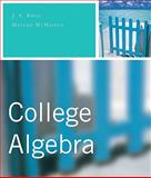 College Algebra Value Pack (includes MathXL 12-month Student Access Kit and Student's Solutions Manual for College Algebra), Ratti and Ratti, J. S., 0321621271
