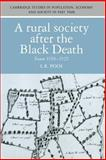 A Rural Society after the Black Death : Essex 1350-1525, Poos, Larry, 0521531276