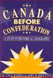 Canada Before Confederation 9780773521278