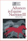 Advances in Equine Nutrition, , 1904761283