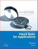 Exploring Getting Started with VBA, Grauer, Robert and Mulbery, Keith, 0135141281