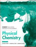 Student Solutions Manual for Physical Chemistry, Atkins and Atkins, Peter, 1429231289
