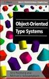 Object Oriented Type Systems, Palsberg, Jens and Schwartzbach, Michael J., 047194128X