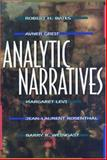 Analytic Narratives, Bates, Robert H., 0691001286