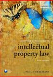 Holyoak and Torremans Intellectual Property Law, Torremans, Paul, 0199581290