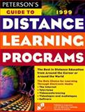 Distance Learning Programs, Peterson's Guides Staff, 0768901294