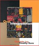 Oral Interpretation, Charlotte I. Lee and Timothy Gura, 0395961297