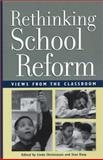 Rethinking School Reform