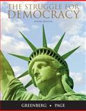 The Struggle for Democracy, Greenberg, Edward S. and Page, Benjamin I., 0205771297