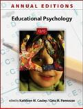 Annual Editions: Educational Psychology 12/13, Cauley, Kathleen and Pannozzo, Gina, 0078051290