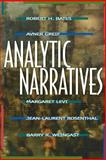 Analytic Narratives, Bates, Robert H. and Greif, Avner, 0691001294