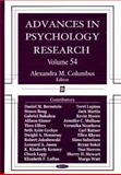 Advances in Psychology Research, Volume 54, , 1604561297