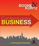 Contemporary Business, Boone, Louis E. and Kurtz, David L., 0470531290