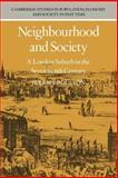 Neighbourhood and Society 9780521021302