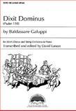Dixit Dominus : Psalm 110, Galuppi, Baldassare and Larson, David, 0893281301