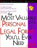 The Most Valuable Personal Legal Forms You'll Ever Need, Mark Warda and James C. Ray, 1572481307
