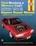 Ford Mustang and Mercury Capri, 1979-1993, John Haynes, 1563921308