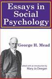Essays in Social Psychology, Mead, George Herbert, 1412811309