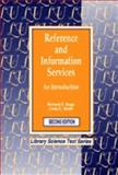 Reference and Information Services : An Introduction, , 156308130X