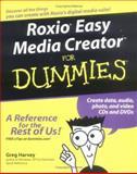 Roxio Easy Media Creator for Dummies, Greg Harvey, 0764571311