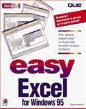 Easy Excel for Windows 95, Marmel, Elaine J., 0789701316