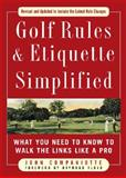 Golf Rules and Etiquette Simplified, John Companiotte, 0071601317