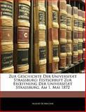 Zur Geschichte der Universitæt Strassburg, August Schricker, 1141181312