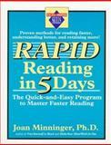 Rapid Reading in Five Days, Joan Minninger, 0399521313