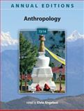 Annual Editions: Anthropology 13/14, Angeloni, Elvio, 0078051312