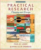 Practical Research, Paul D. Leedy and Jeanne Ellis Ormrod, 013374132X