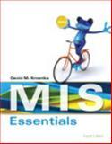 MIS Essentials, Kroenke, David M., 0133591328