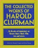The Collected Works of Harold Clurman, Harold Clurman, 1557831327